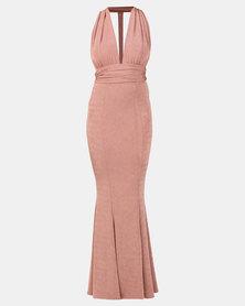 Sissy Boy Formal Maxi Dress Pink