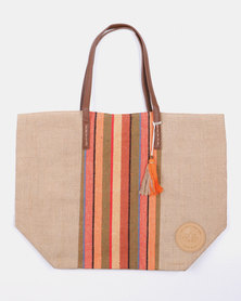 Lizzy Beach Bag Multi