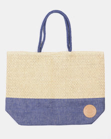 Lizzy Beach Bag Blue