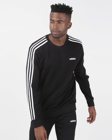adidas Performance Mens E 3S Crew FT Black