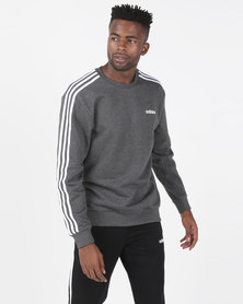 adidas Performance Mens E 3S Crew FT Grey