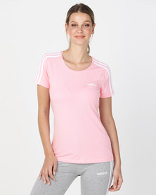 adidas Performance Ladies 3S Slim Tee Pink