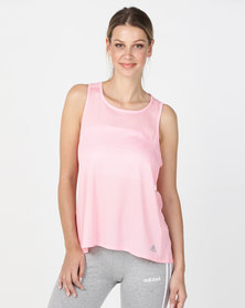 adidas Performance Response Tank W Top Pink