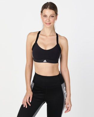 06a0ab41089b adidas Performance All Me 3S Bra Black