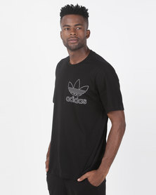 adidas Originals Mens Outline Tee Black