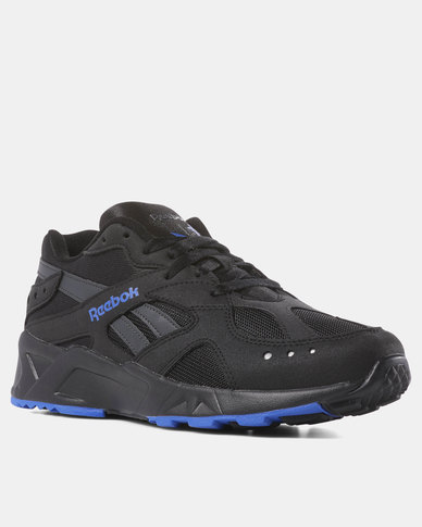 Reebok Aztrek Sneakers 90s Black/White/Crushed Cobalt/Blue Hills