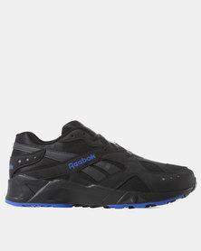 Reebok Aztrek Sneakers 90s Black/White/Crushed Cobalt/Blue Hills