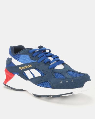 Reebok Aztrek Sneakers 90s Collnavy/Collroyal/White/Primal Red/Grey/Gold