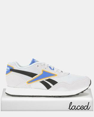Reebok Rapide Mu Nostalgia Sneakers Crushed Cobalt Trek Gold Denim White 1f694d0a1
