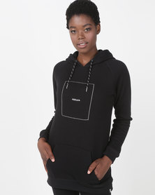 Hurley Harvey Mixtape Tunic Fleece Black