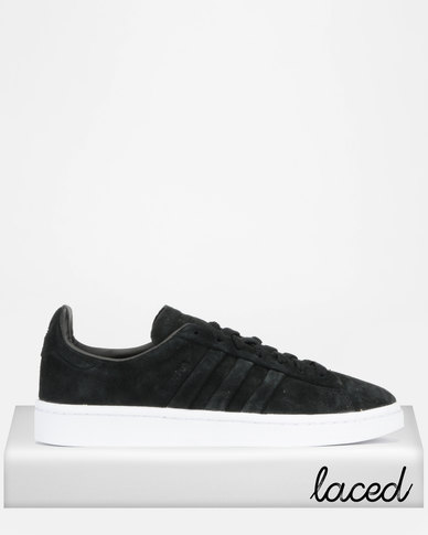 best service c93d1 fbced adidas Originals Campus Stitch And Turn Sneakers BlackWhite