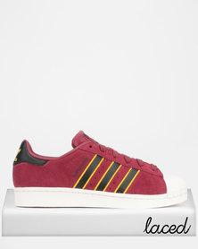 adidas Originals Superstar Sneakers Red/Black