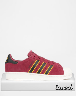 new product 43ca3 31be8 adidas Originals Superstar Sneakers Red Black