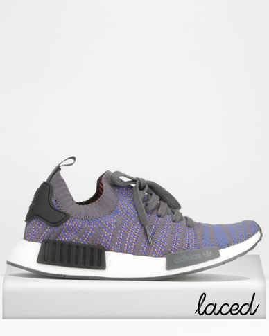 adidas Originals NMD R1 STLT PK Sneakers Blue Black  54de8d5ac