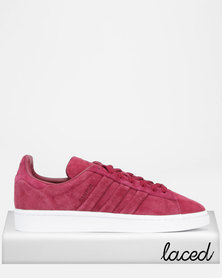 adidas Originals Campus Stitch And Turn Sneakers Red/White