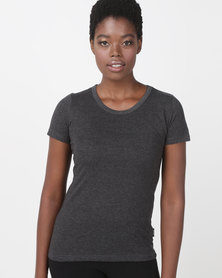 Hi-Tec Lady cotton tee Grey