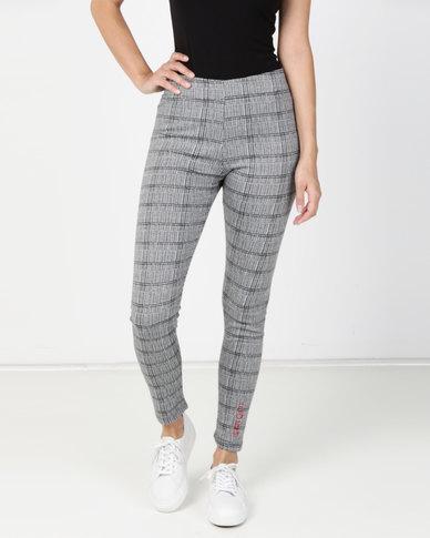 ECKÓ Unltd Check Pants Grey