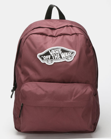 Vans Realm Backpack Red