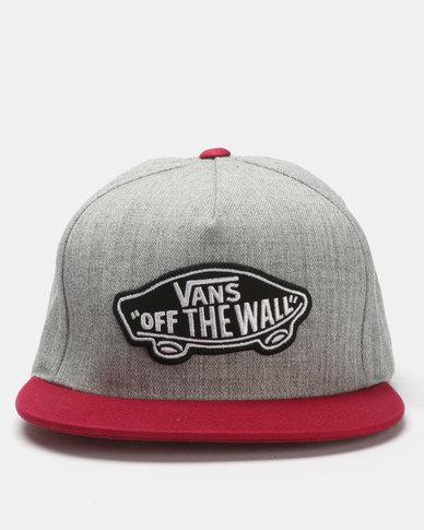 723ffee2226 Vans Classic Patch Snapback Hat Grey