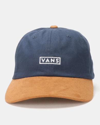cf62f3962e270a Vans Curved Bill Jockey Cap Blue   Zando