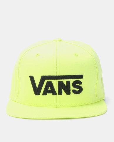 bd7afd92d83e Vans Drop V II Snapback Cap Yellow