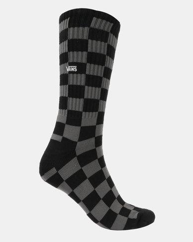 6bbb298d79ca10 VANS Checkerboard Crew Socks Multi