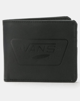440f0bb6fd83f6 Vans Full Patch Bifold Wallet Black