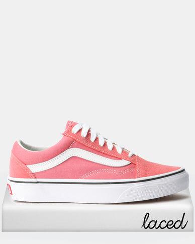 9bd2919be15 Vans UA Old Skool Sneakers Strawberry Pink True White