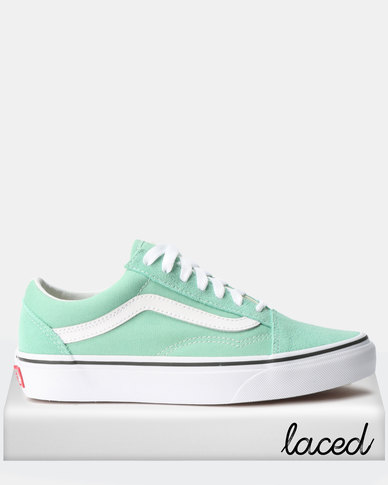 3d32704168a6 Vans UA Old Skool Sneakers Neptune Green True White