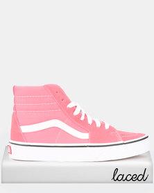 Vans UA SK8-Hi Sneakers Strawberry Pink/True White