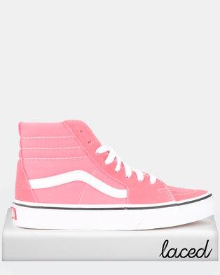c22cf0e130c1cf Vans UA SK8-Hi Sneakers Strawberry Pink True White