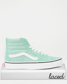 VANS UA SK8-Hi VMX Sneakers Neptune Green/True White