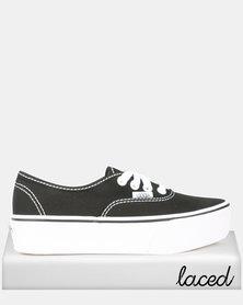 Vans UA Authentic Platform Sneakers 2.0 Black