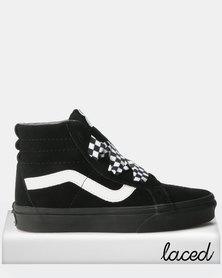 Vans UA SK8-Hi Alt Lace Sneakers Check/Wrap/Black/White