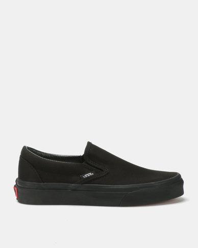 d6fbcdc6d9 Vans Classic Slip On Sneakers Black