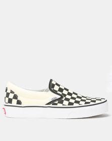 Vans Classic Slip On Sneakers Black/White Checker