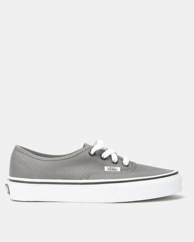 Vans Authentic Sneakers Pewter/Black