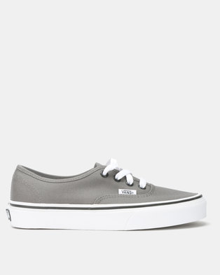 dde0b16197fa5e Vans Authentic Sneakers Pewter Black