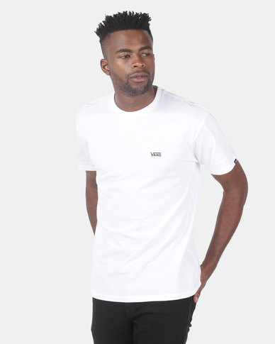e863e83e22d589 Vans Left Chest Logo Tee White | Zando