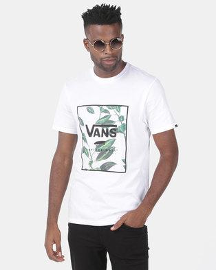 07ab62c7be Vans Print Box Tee White