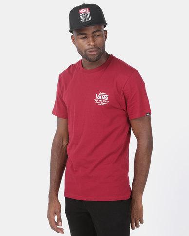 Vans Holder Street II T-shirt Red