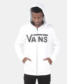 Vans Classic Zip Hoodie YB2 White
