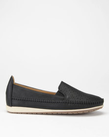 Butterfly Feet Cordelia2 Slip On Shoes Black