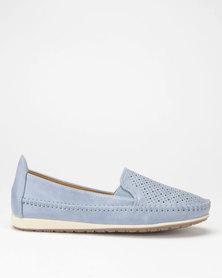 Butterfly Feet Cordelia2 Slip On Shoes Blue