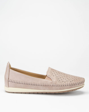 3505d2f4d88003 Butterfly Feet Cordelia 2 Slip-on Shoes Pink