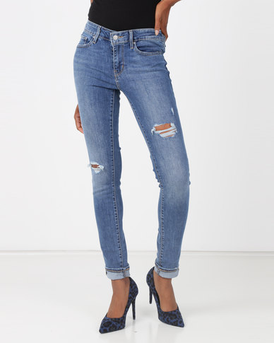 Levi's® 711 Skinny Jeans Foxey Blues