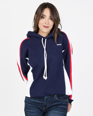 Levi's® Sport Short Hoodie Colourblock