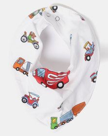Kapas Car Dribble Bib Multi