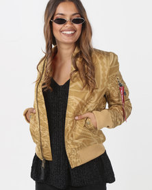 Alpha Industries MA-1 VF Tonga Jacket Gold