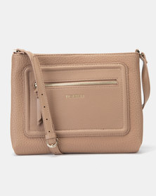 Fiorelli Bella Crossbody Bag Taupe
